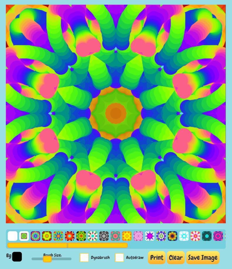 New Kaleidoscope Painter is Now Live – permadi.com
