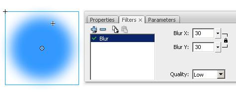 Flash Blur Filter Plus Icon a Blur Filter